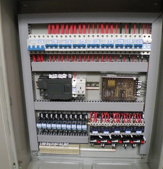 芜湖三叶机电设备plc电气控制柜